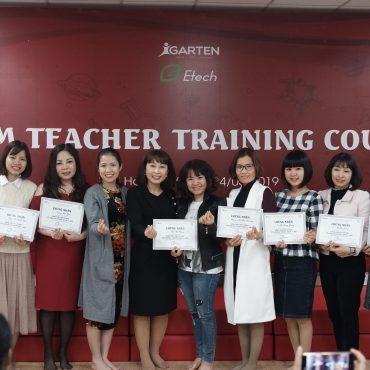 Khóa học STEM Tháng 6 (Giảng viên Việt Nam)